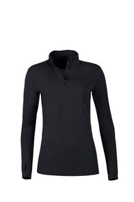 Macpac Prothermal Polartec® Long Sleeve Top — Women's, Black, hi-res