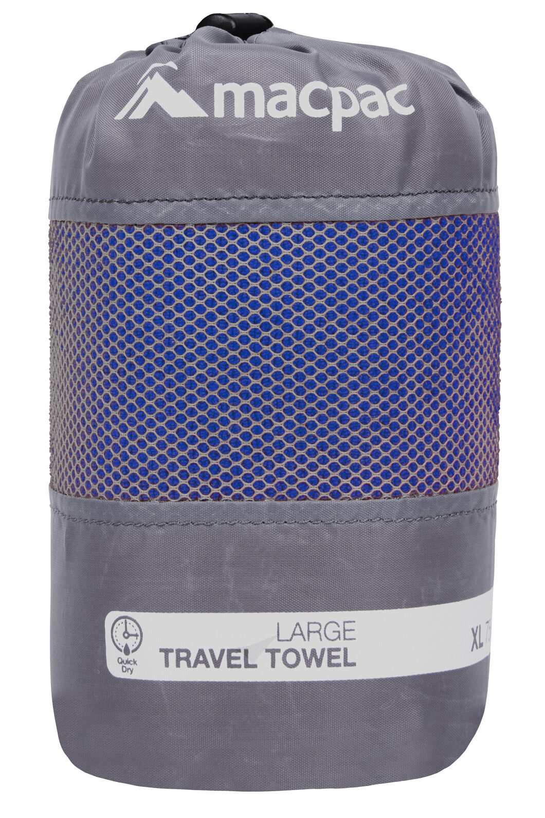 Macpac Travel Towel Large, Sodalite Blue, hi-res