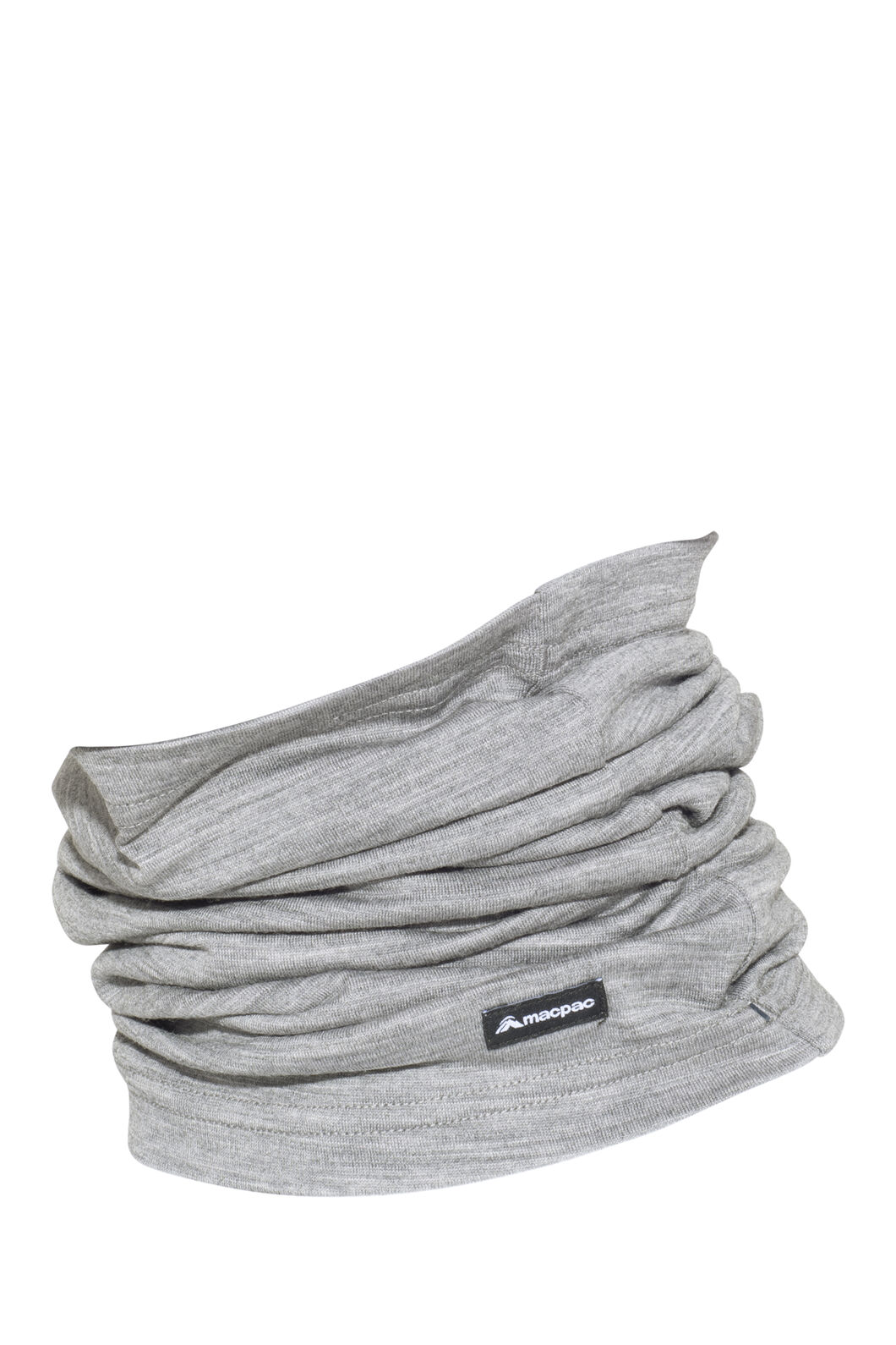Macpac Merino 150 Neck Gaiter, Grey Marle, hi-res