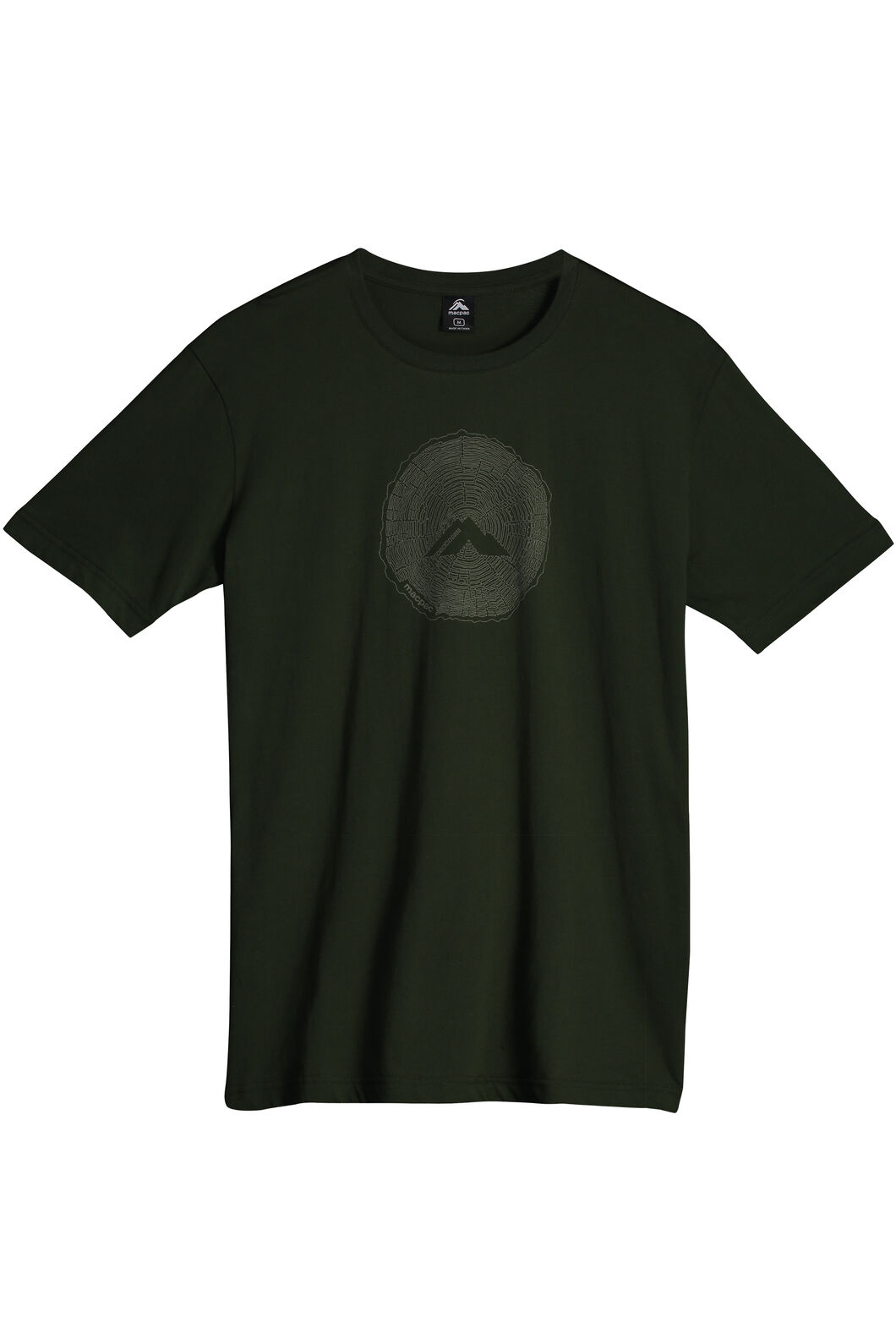 Sawcut Organic Cotton T-Shirt - Men's, Kombu Green, hi-res