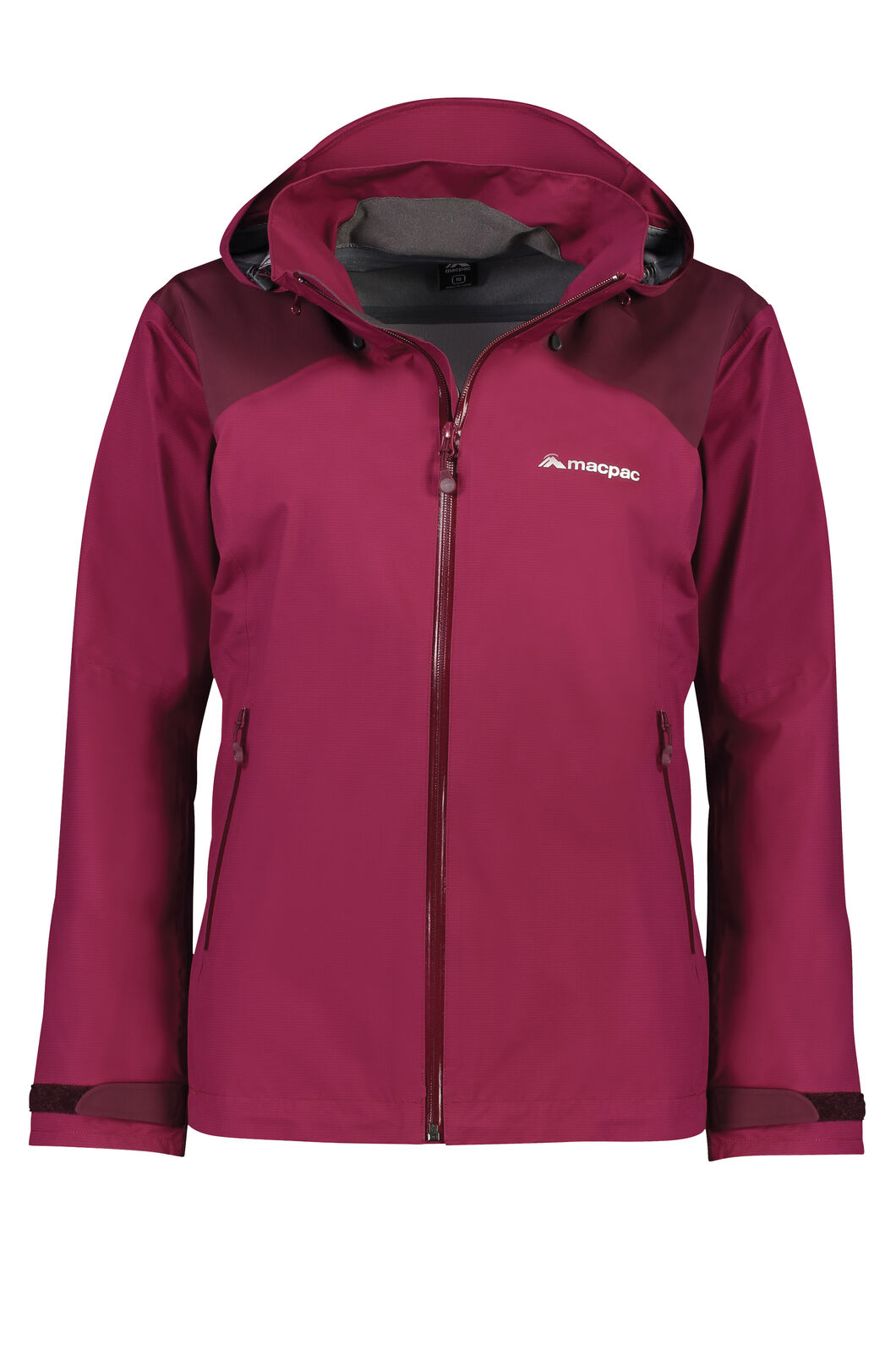 Macpac Traverse Pertex® Rain Jacket - Women's, Beet Red, hi-res