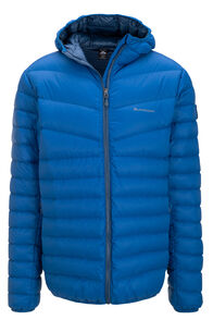 Macpac Mercury Hooded Down Jacket — Men's, Classic Blue, hi-res