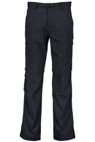 Macpac Rockover Convertible Pants — Men's, Black, hi-res