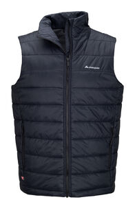 Macpac Sou'west PrimaLoft® Vest — Men's, Black, hi-res