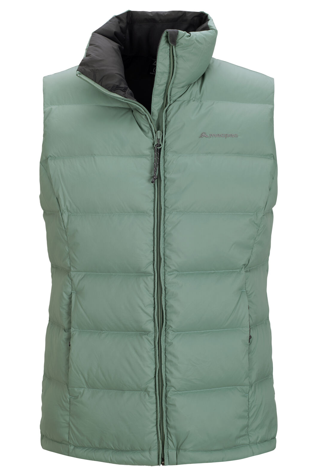 Macpac Halo Down Vest — Women's, Green Bay, hi-res