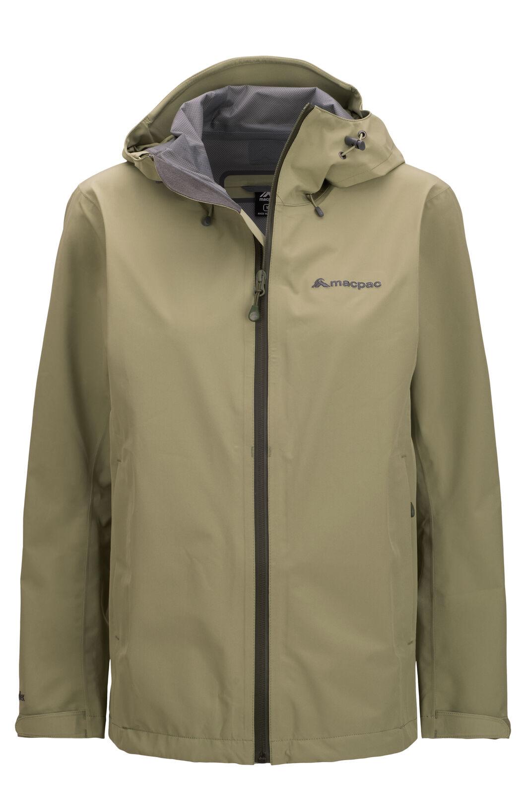 Macpac Women's Dispatch Rain Jacket, Oil Green, hi-res