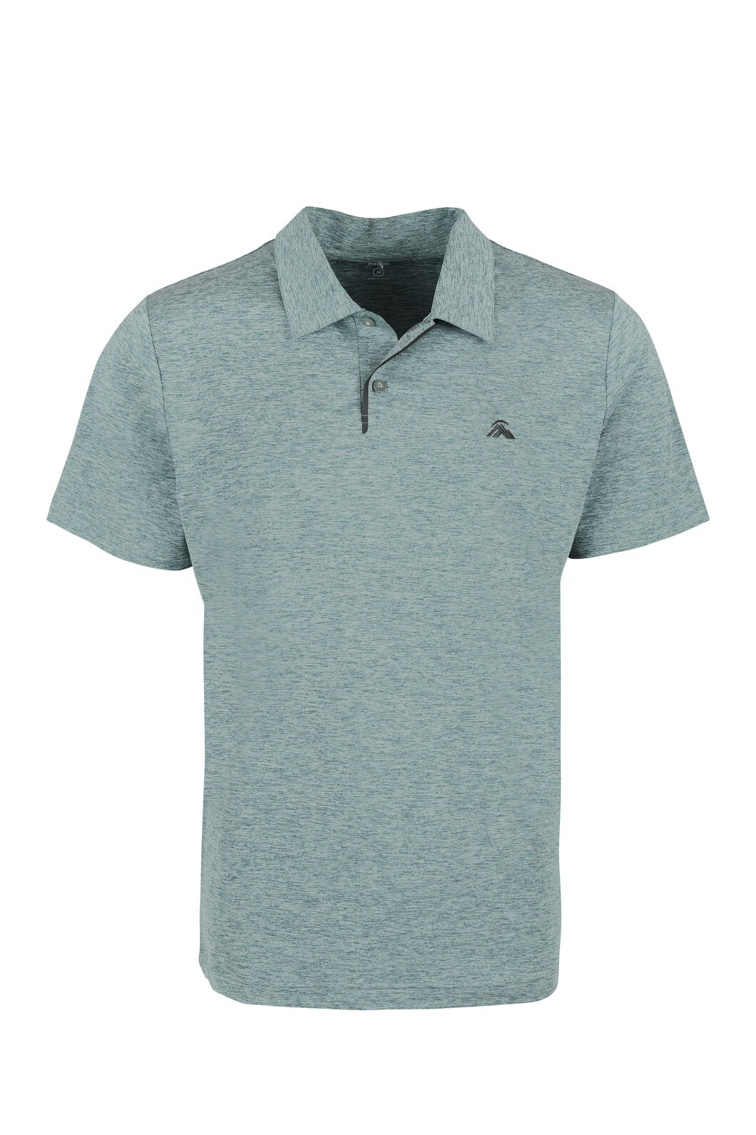 Macpac Xenicus Coolcore® Polo - Men's, Stormy Sea, hi-res