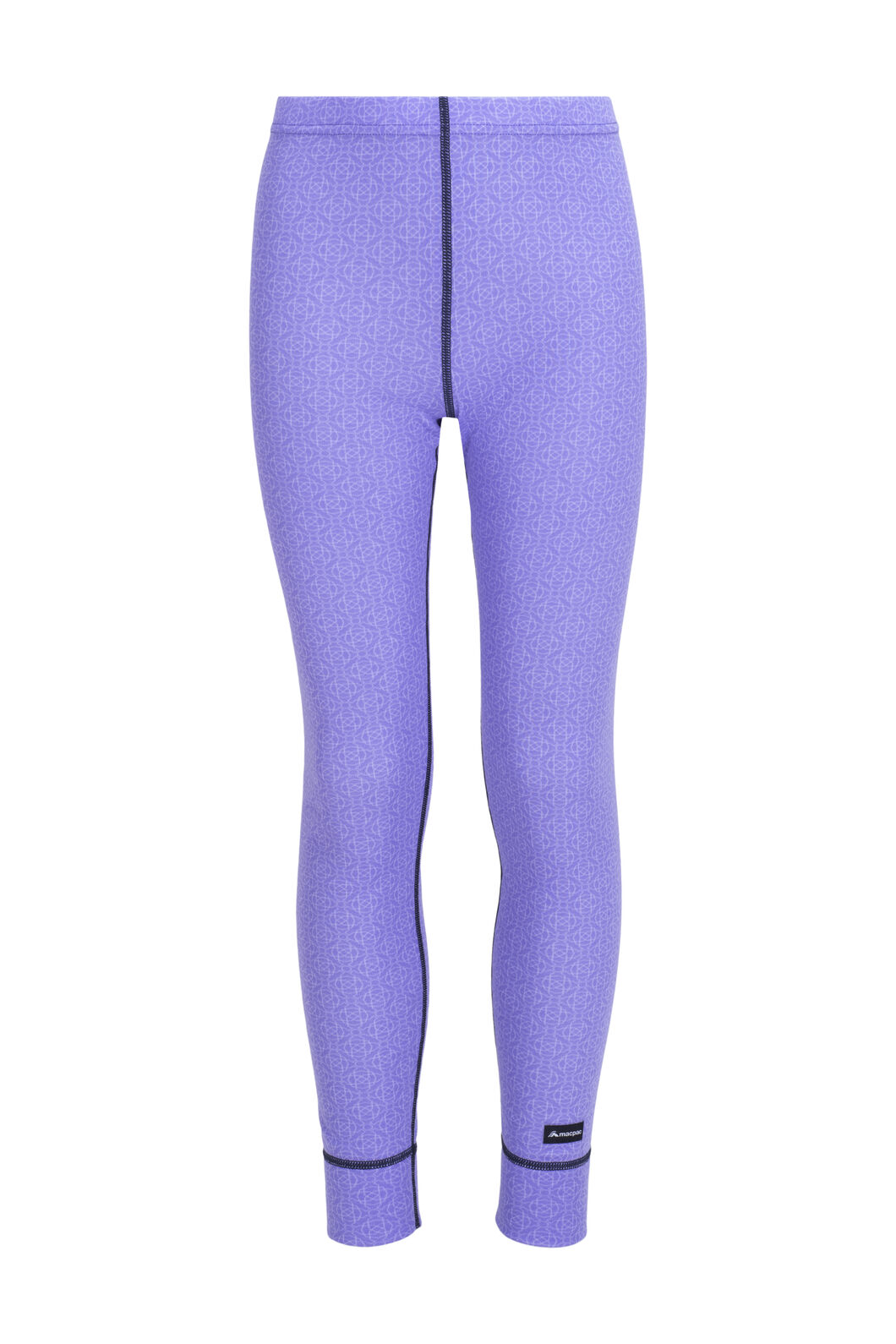 Macpac Geothermal Pants — Kids' (V2), Aster Purple Print, hi-res