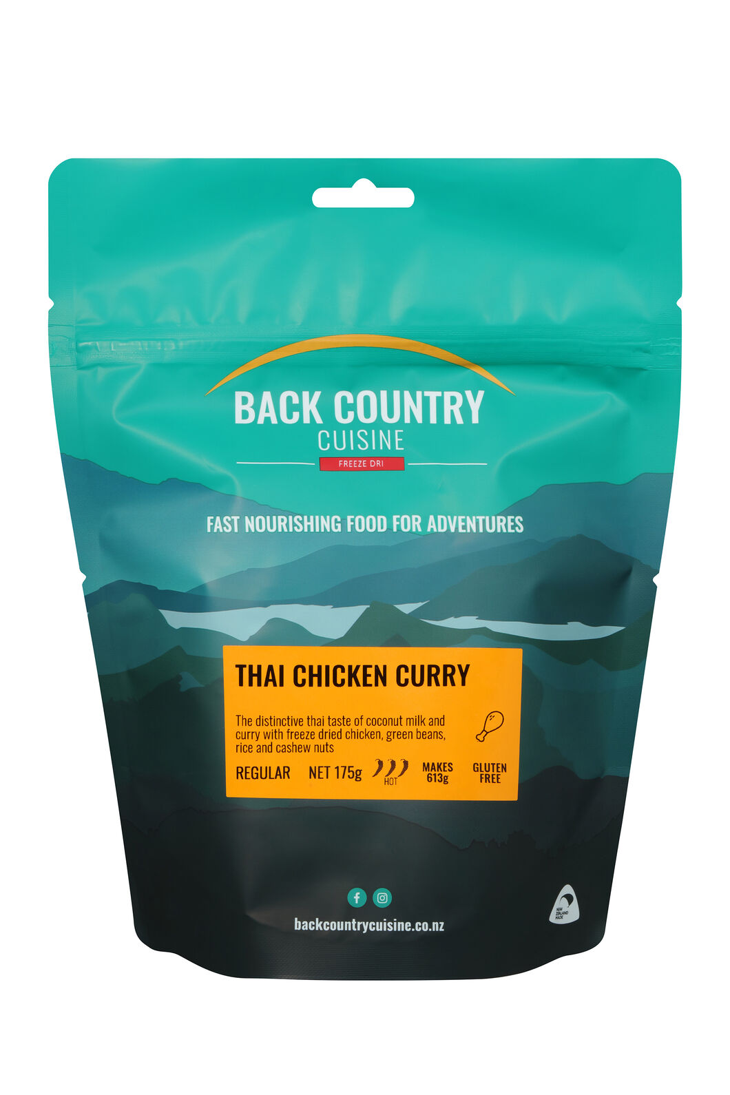 Back Country Thai Chicken Curry (Gluten Free) — Regular Serve, None, hi-res