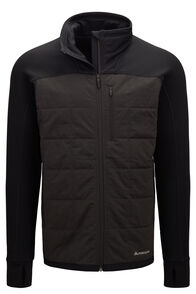 Macpac Men's Accelerate PrimaLoft® Fleece Jacket, Black, hi-res