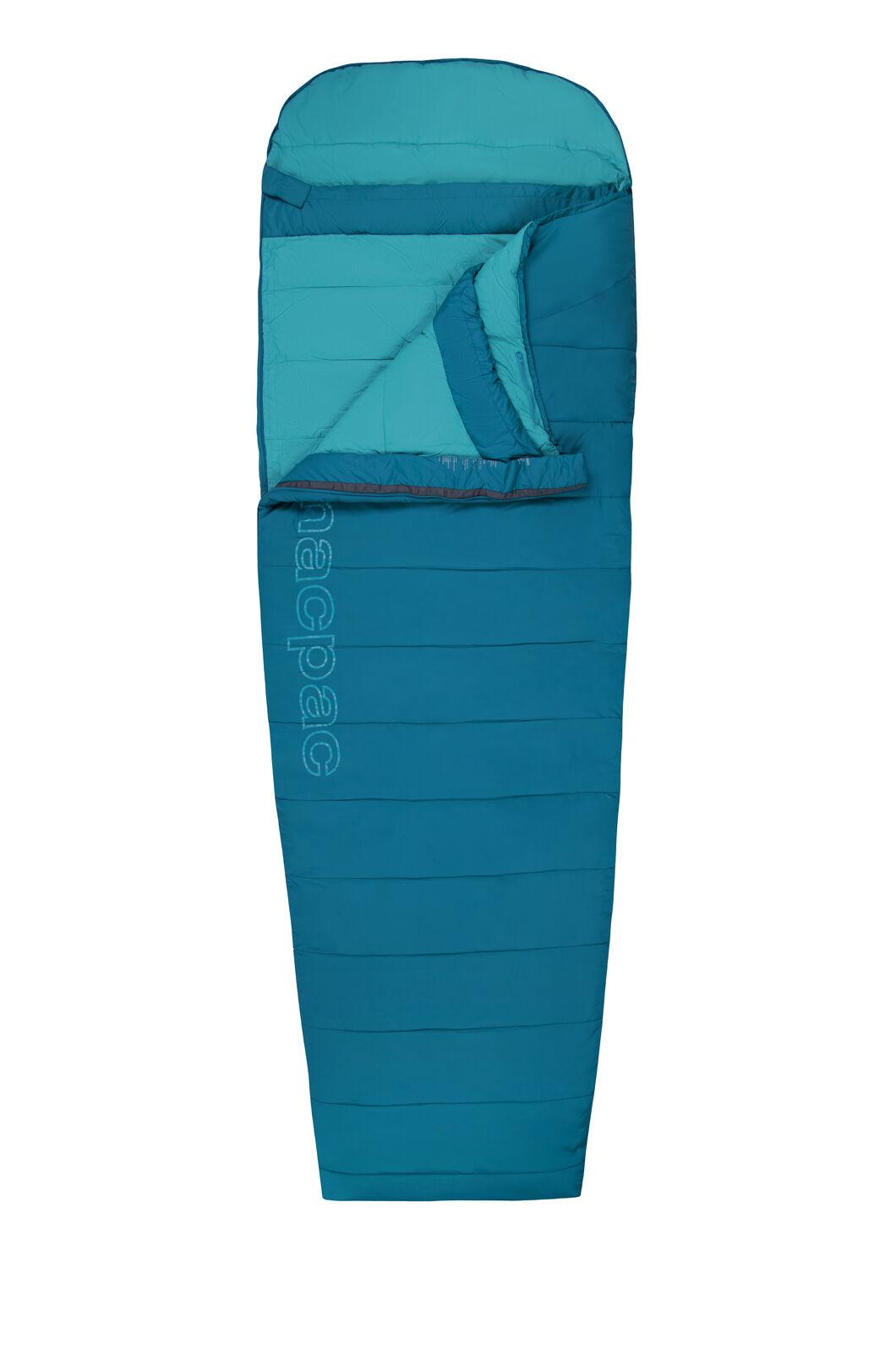 Macpac Roam 200 Sleeping Bag — Standard, Morrocan Blue/Larkspur, hi-res