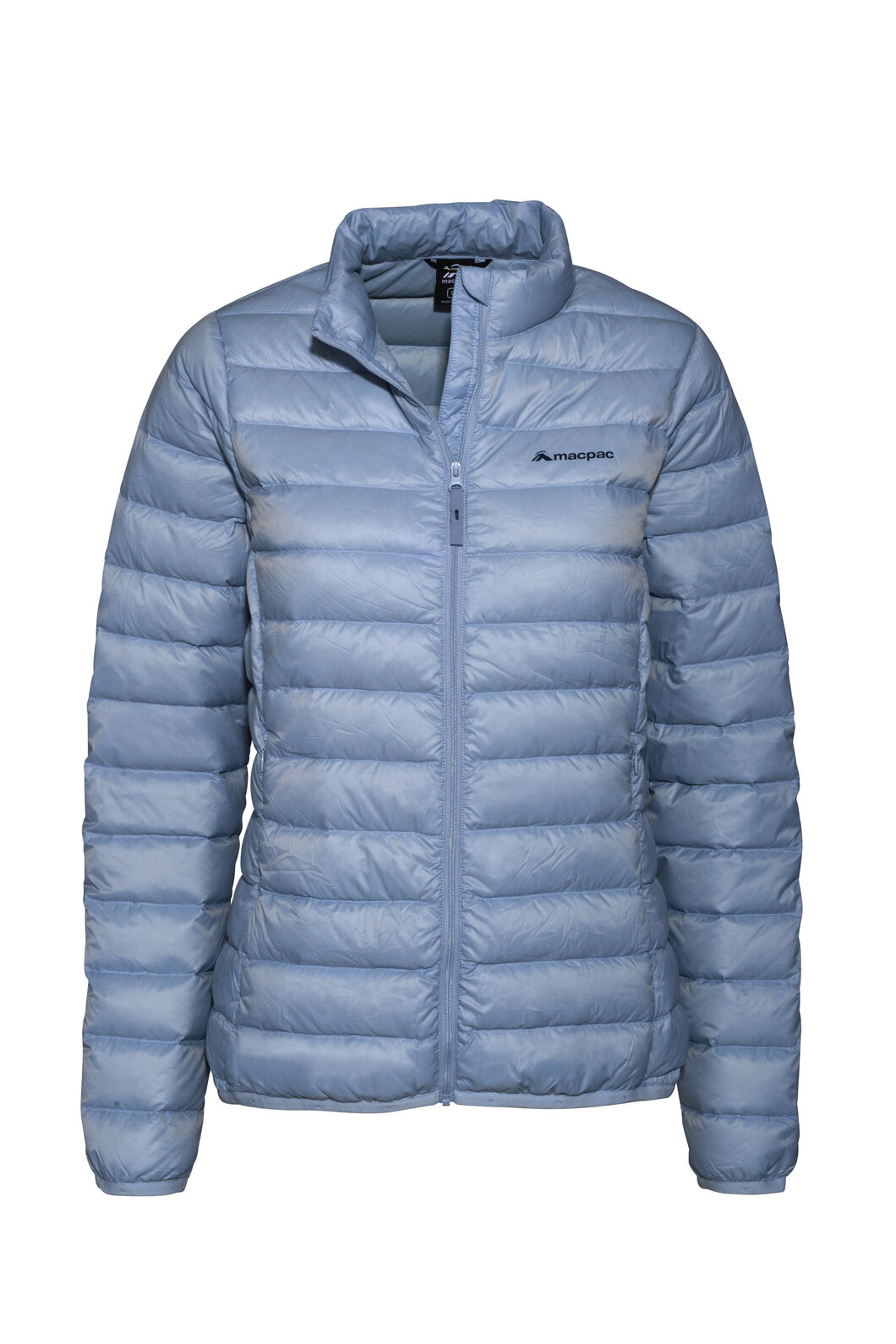 Macpac Uber Light Down Jacket — Women's, Blue Fog, hi-res