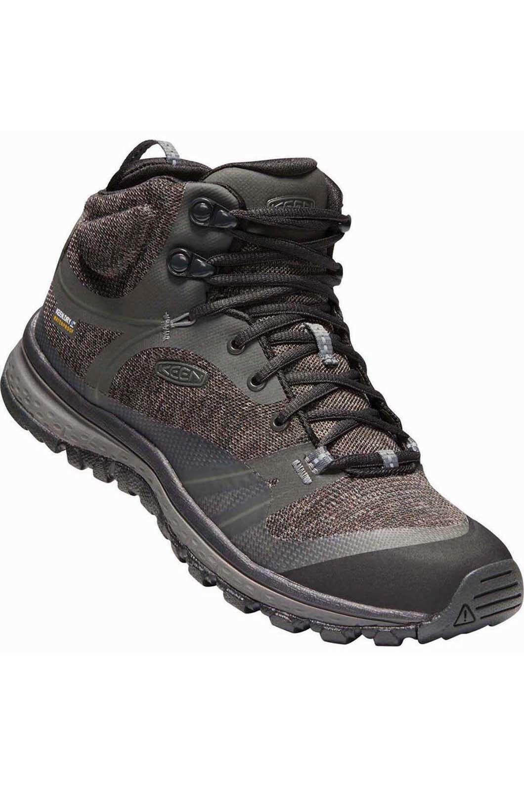 Keen Women's Terradora WP Hiking Boots, Raven/Gargoyle, hi-res