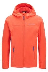 Macpac Kids' Mini Mountain Hooded Jacket, Living Coral, hi-res