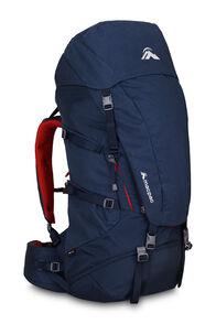 Macpac Torlesse AzTec® Front Zip 65L Hiking Backpack, Black Iris, hi-res