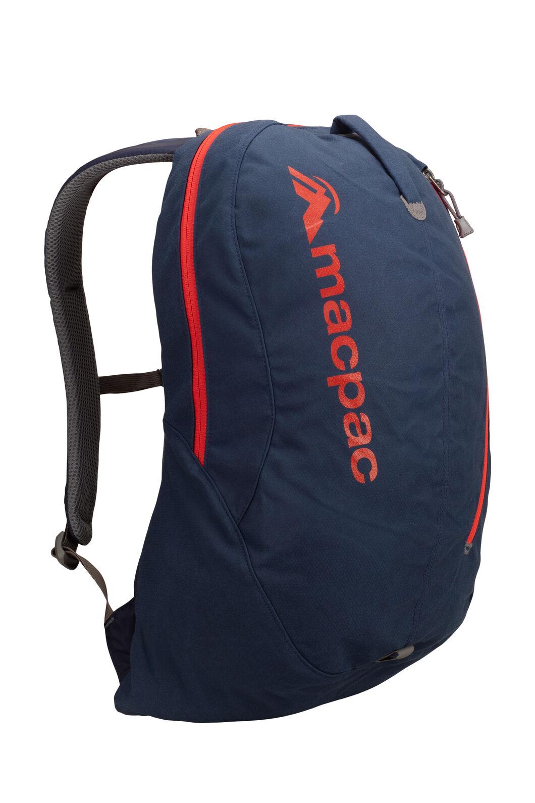 Macpac Kahu AzTec® 22L Backpack, Black Iris/Orange, hi-res