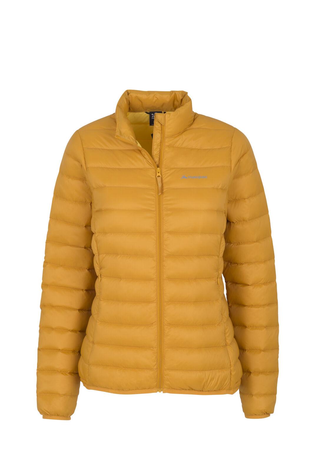 Macpac Uber Light Down Jacket — Women's, Golden Yellow, hi-res
