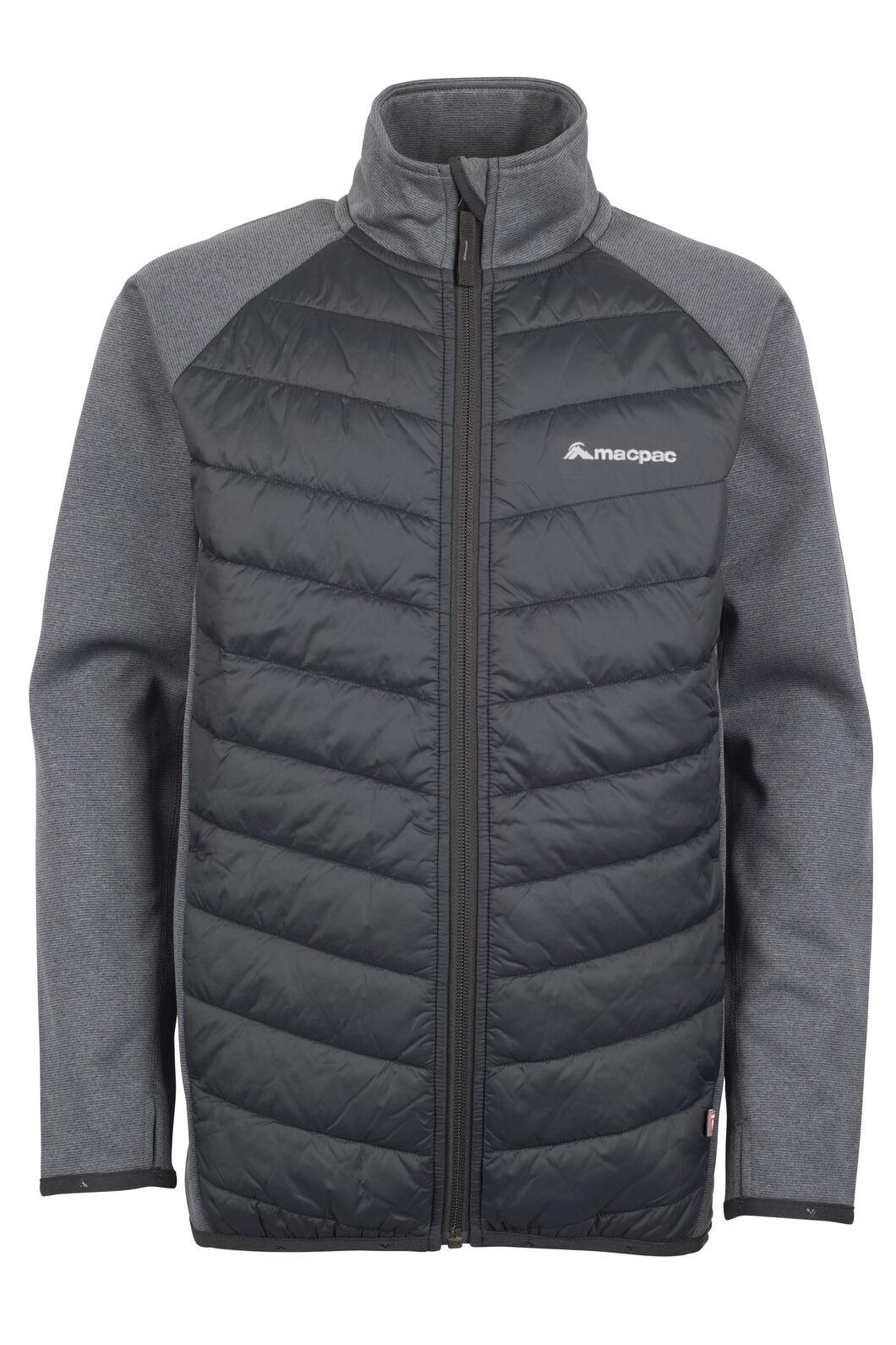 Kiwi Hybrid Jacket - Kids', Black/Asphalt, hi-res