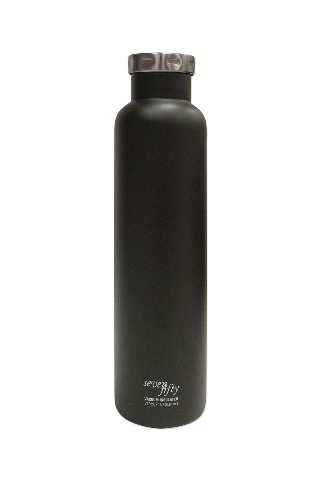 FIFTY/FIFTY® Seven/Fifty Wine Growler — 25 oz./750 ml, Black, hi-res