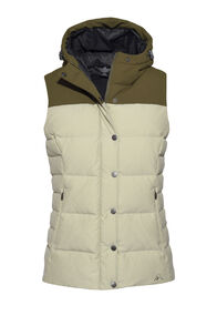 Macpac Umbra Hooded Down Vest — Women's, Elm, hi-res