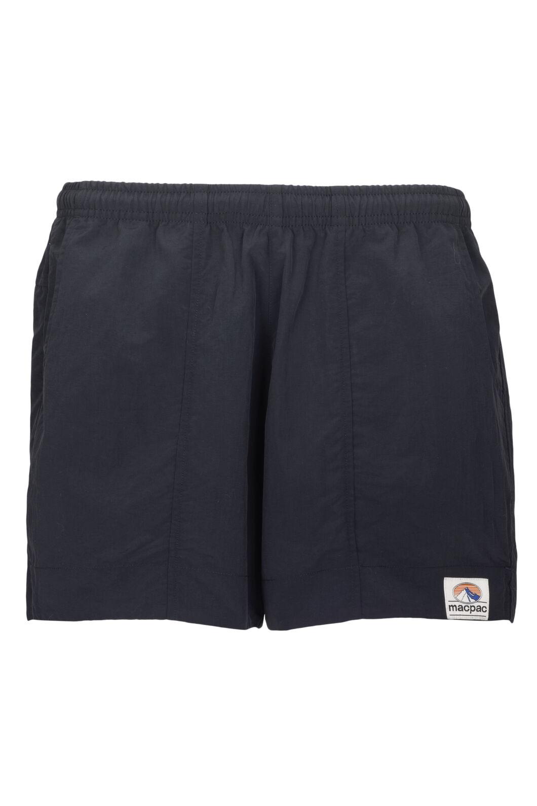 Macpac Winger Shorts — Women's, Black, hi-res