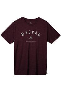 Macpac 180 Merino Crew - Men's, Winetasting Marle, hi-res