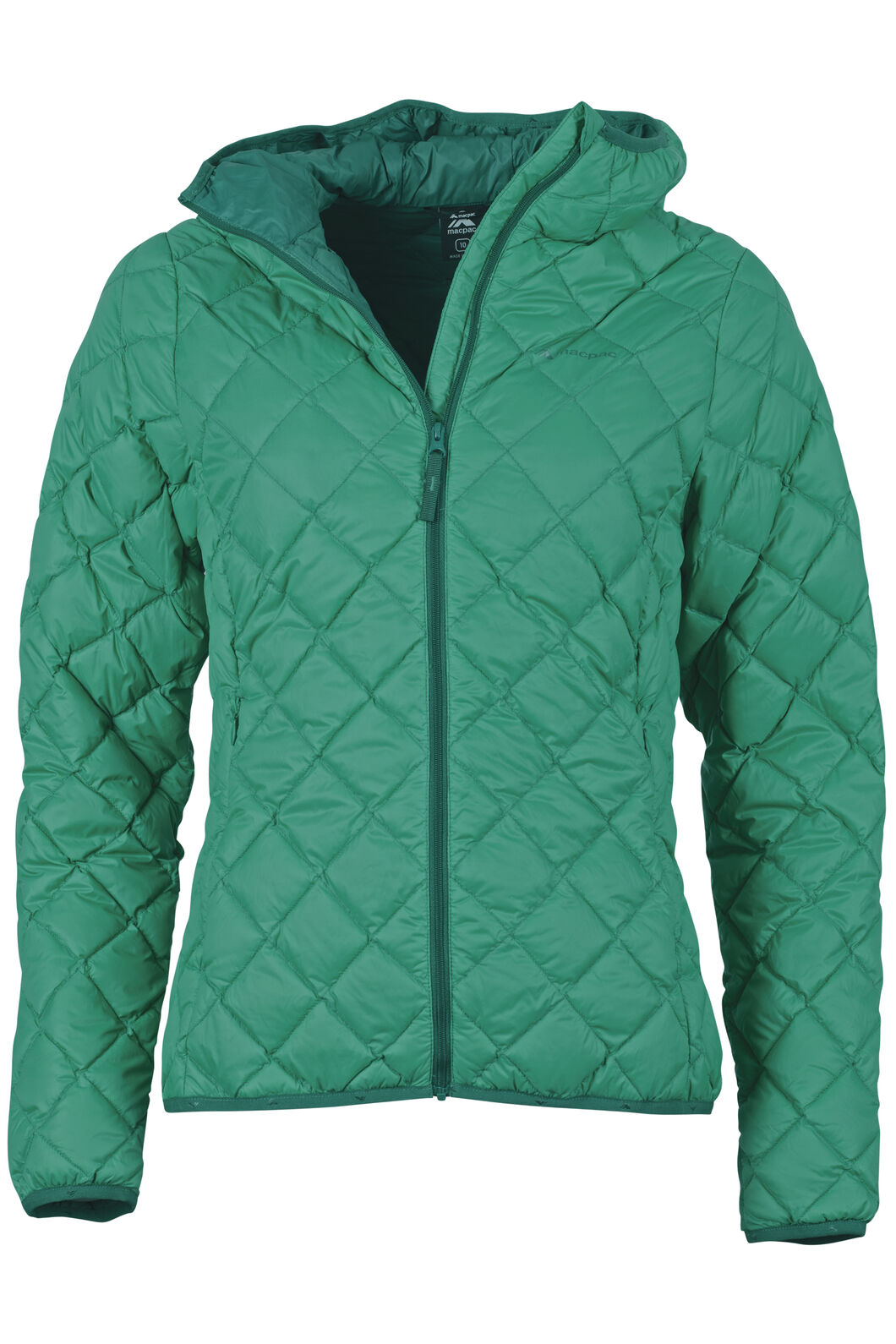 Uber Light Hooded Down Jacket - Women's, Arcadia, hi-res
