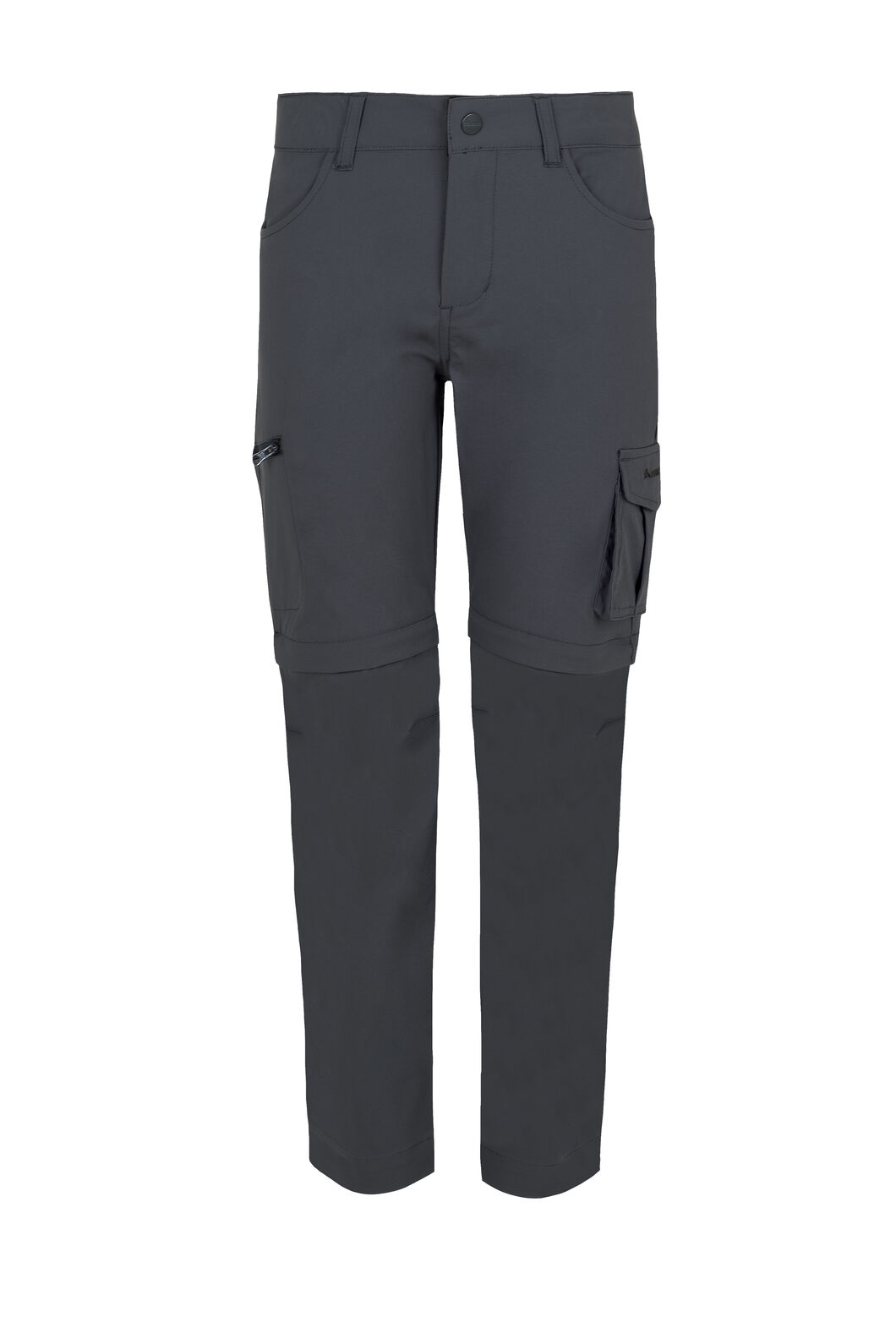 Macpac Rockover Convertible Pants - Kids', Asphalt, hi-res