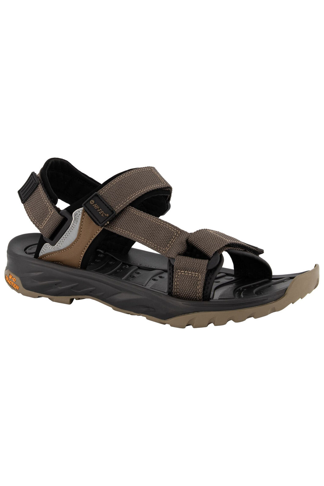 Hi-Tec Ula Raft Sandals — Men's, Desert Black, hi-res