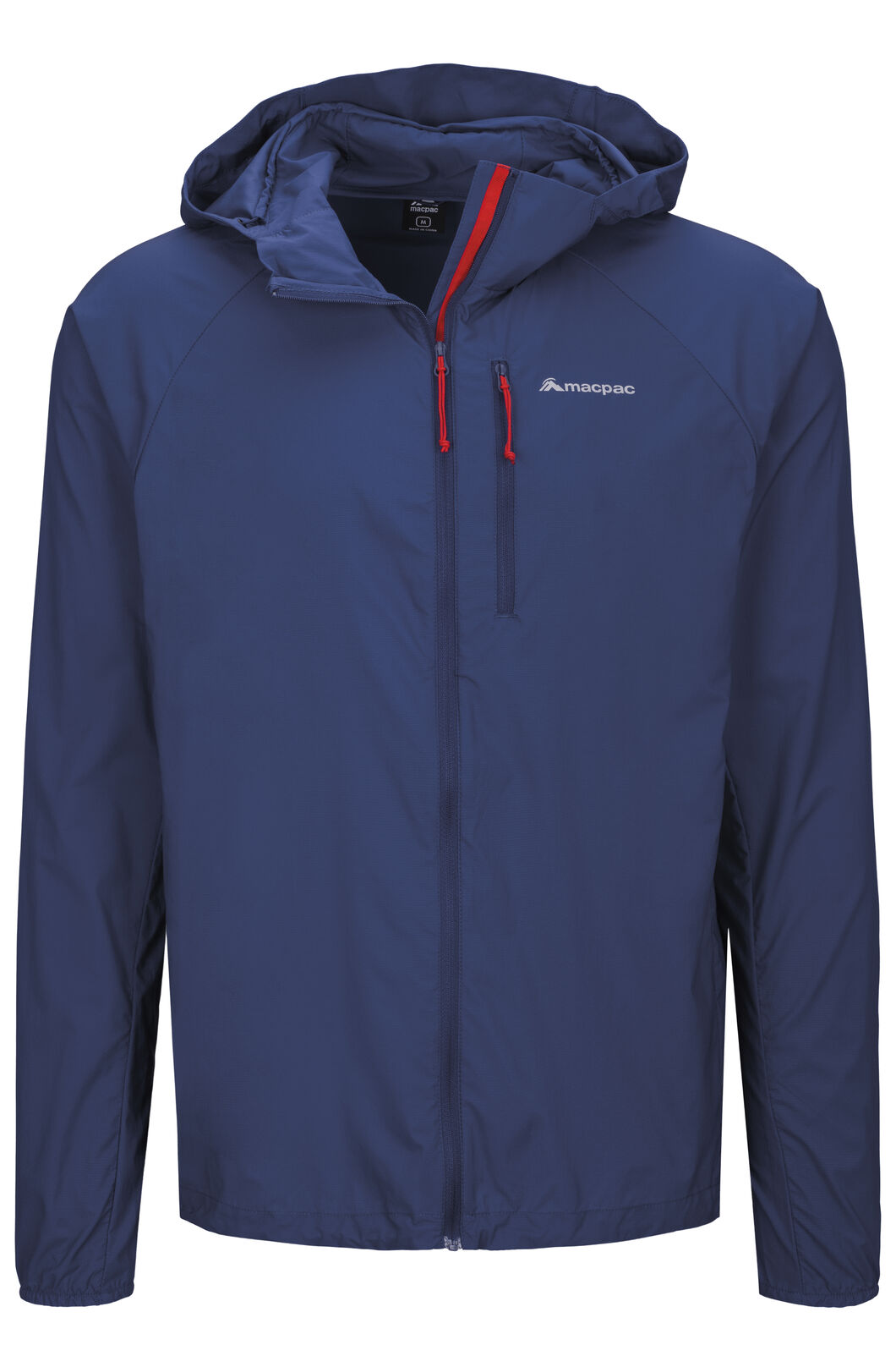 Macpac Whitcombe Pertex® Windbreaker — Men's, Blueprint, hi-res