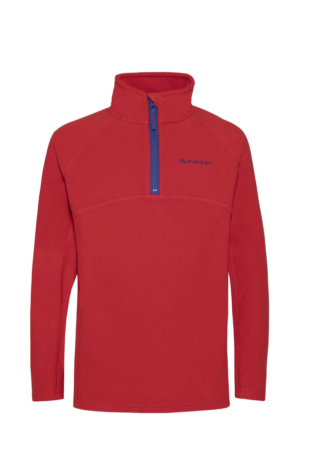 Macpac Tui Polartec® Fleece Pullover — Kids', Samba, hi-res