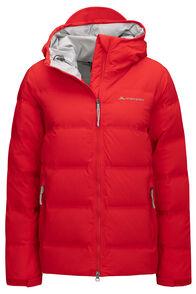 Macpac Women's Equinox Waterproof Pertex® Down Jacket, High Risk Red, hi-res