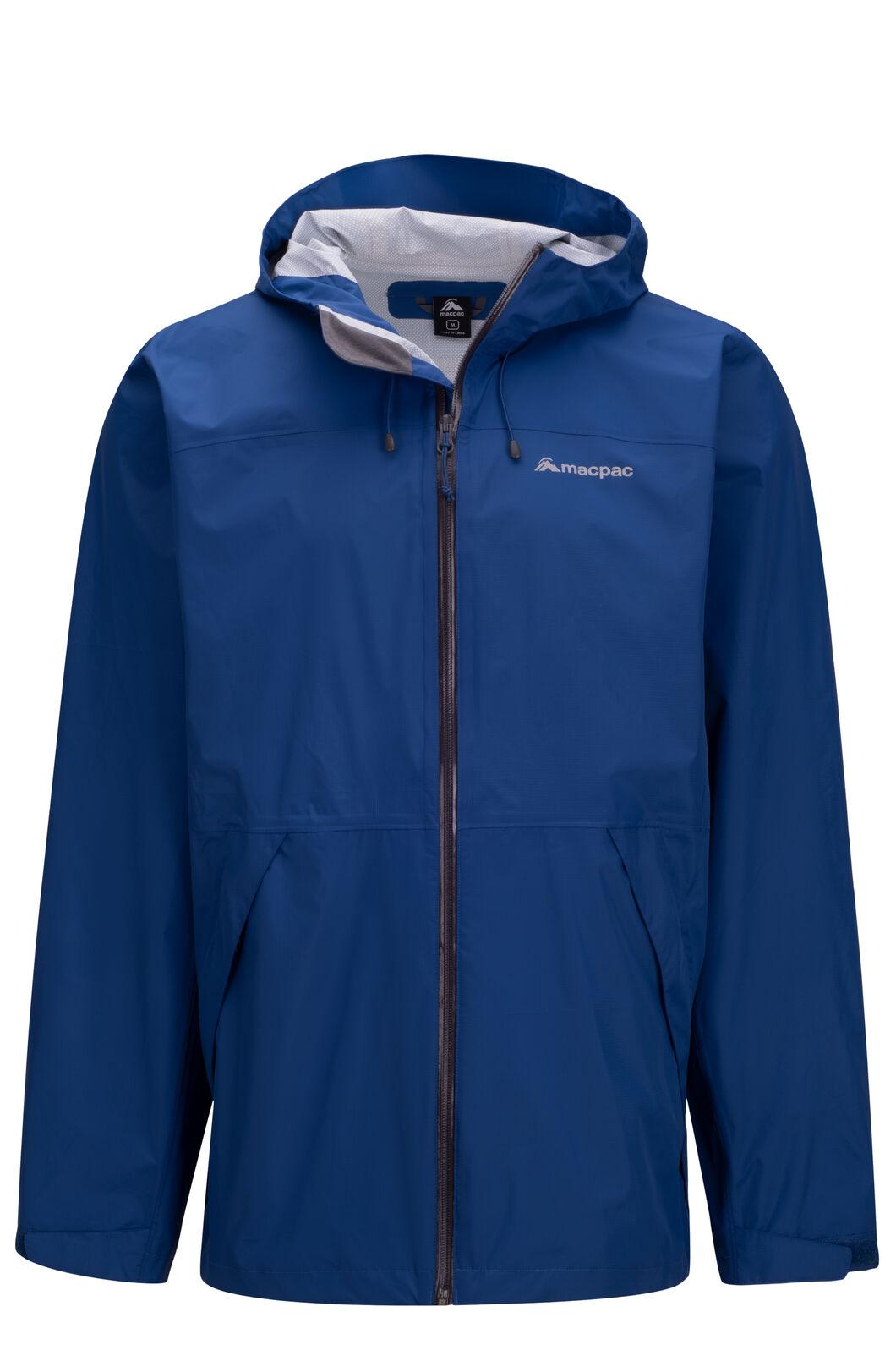 Macpac Men's Mistral Rain Jacket, Limoges, hi-res