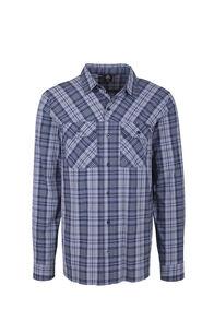 Macpac Crossroad Long Sleeve Shirt - Men's, Flint Stone, hi-res