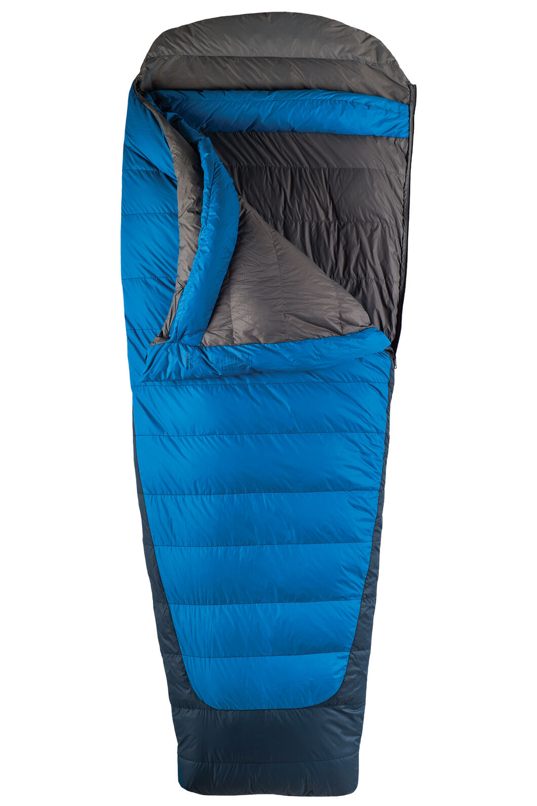 Macpac Escapade Down 500 Sleeping Bag - Standard, Classic Blue, hi-res
