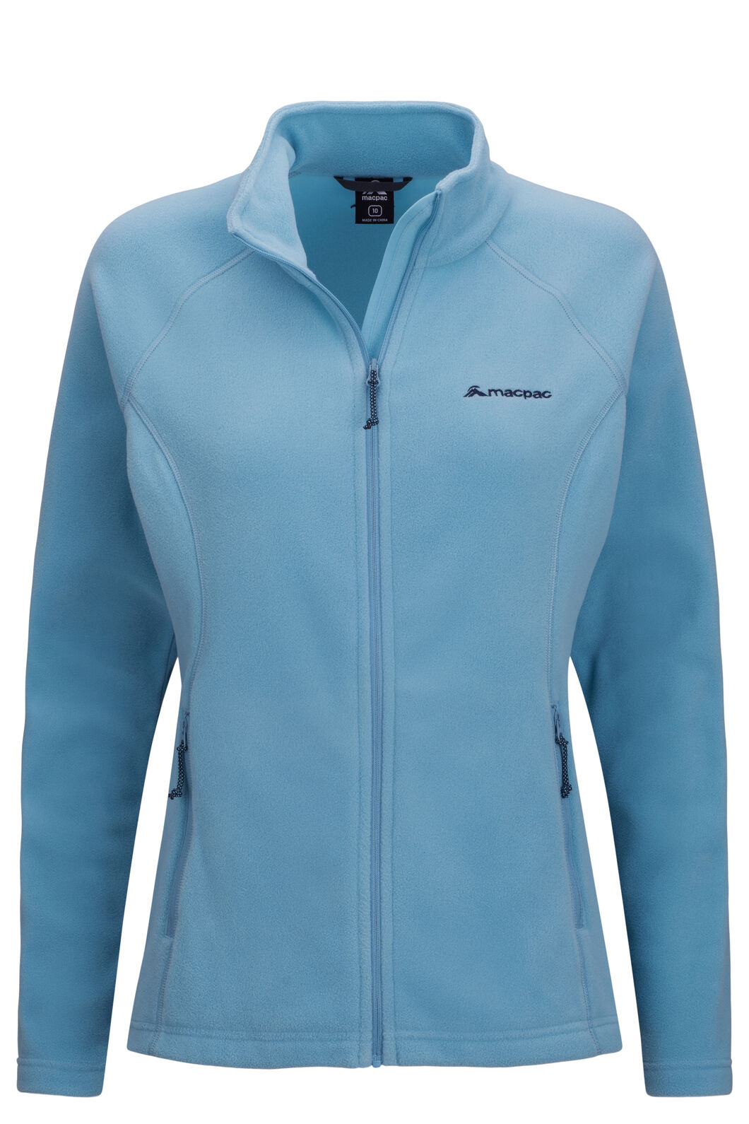 Macpac Women's Tui Polartec® Micro Fleece® Jacket, Delphinium, hi-res