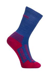 Macpac Kids' Hiking Sock, Wedgewood/Jazzy, hi-res