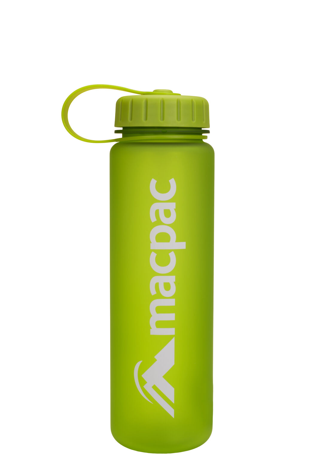 Macpac Soft Touch Water Bottle — 600ml, Green, hi-res