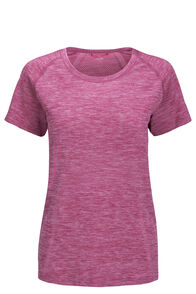 Macpac Limitless Short Sleeve Tee — Women's, Purple Orchid, hi-res