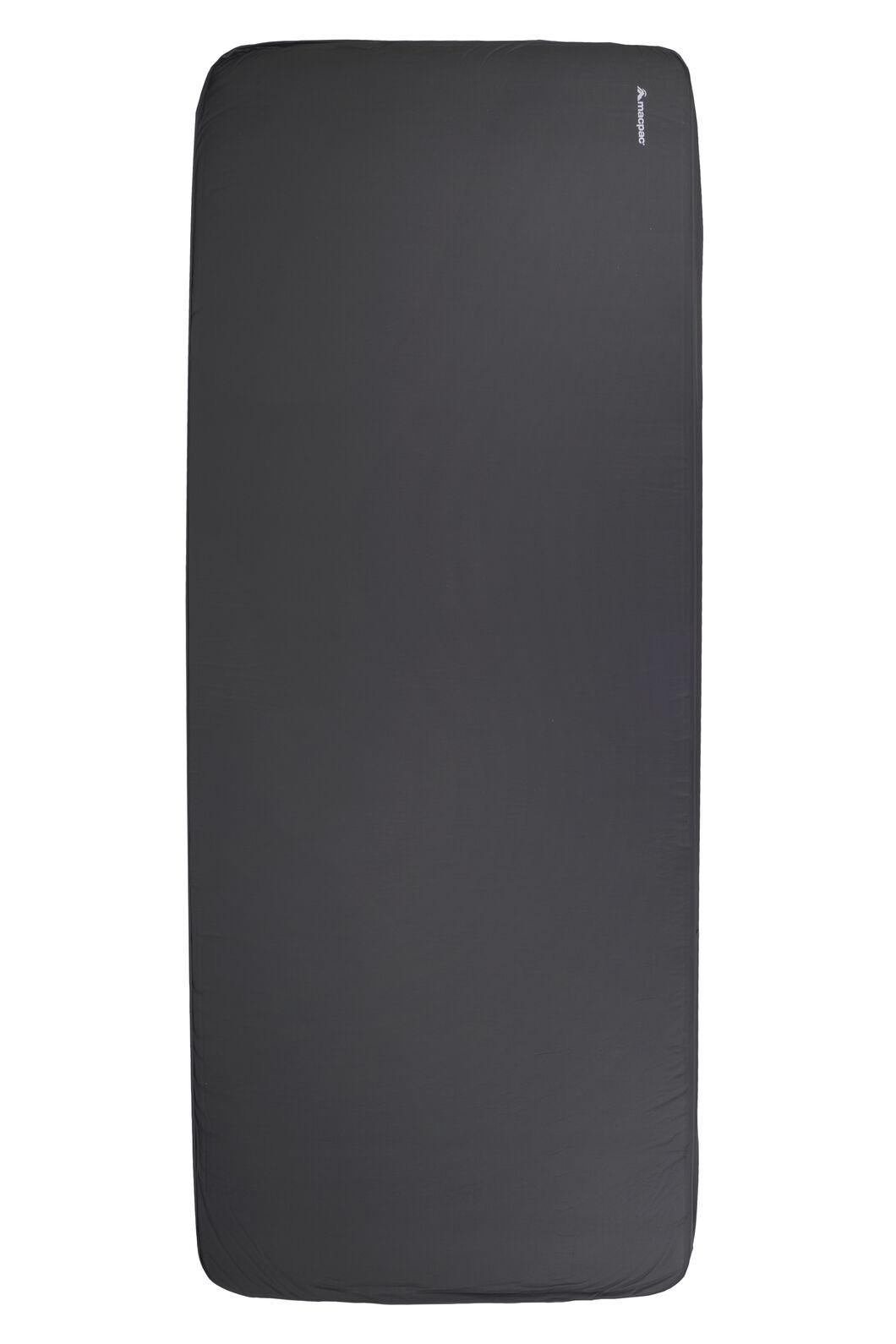 Macpac Deluxe Single Sleeping Mat, Charcoal, hi-res