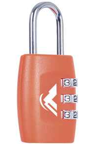Macpac Combo Lock, Orange, hi-res