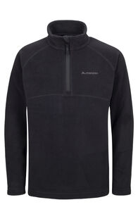 Macpac Tui Polartec® Fleece Pullover — Kids', Black, hi-res