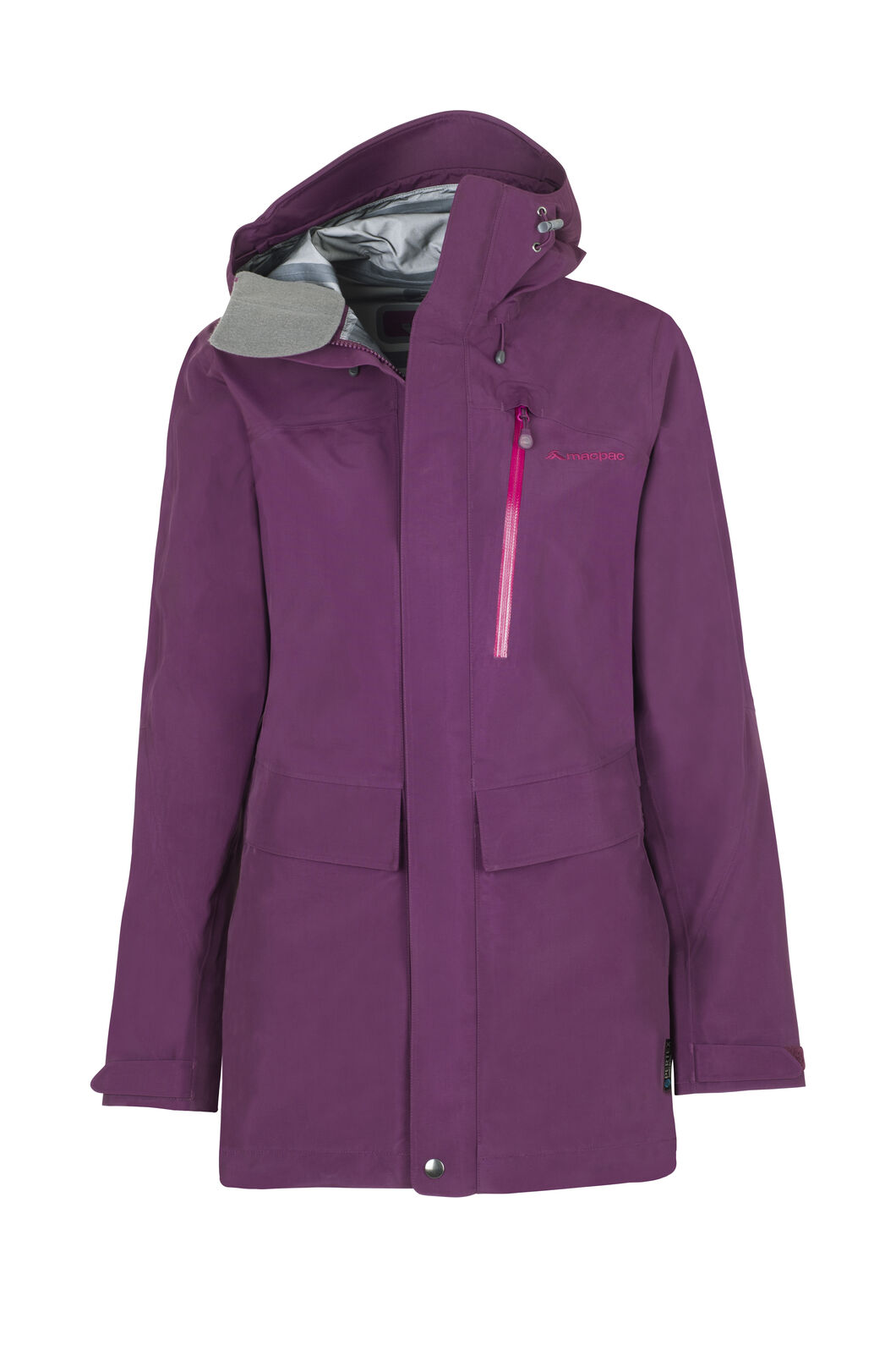 Macpac Resolution Pertex® Rain Jacket - Women's, Potent Purple, hi-res