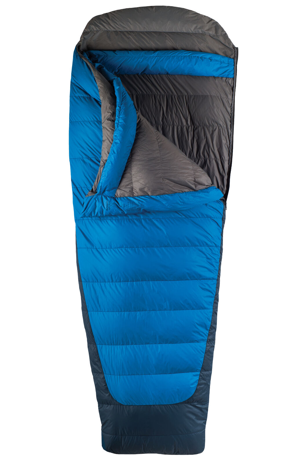 Macpac Escapade Down 500 Sleeping Bag - Extra Large, Classic Blue, hi-res