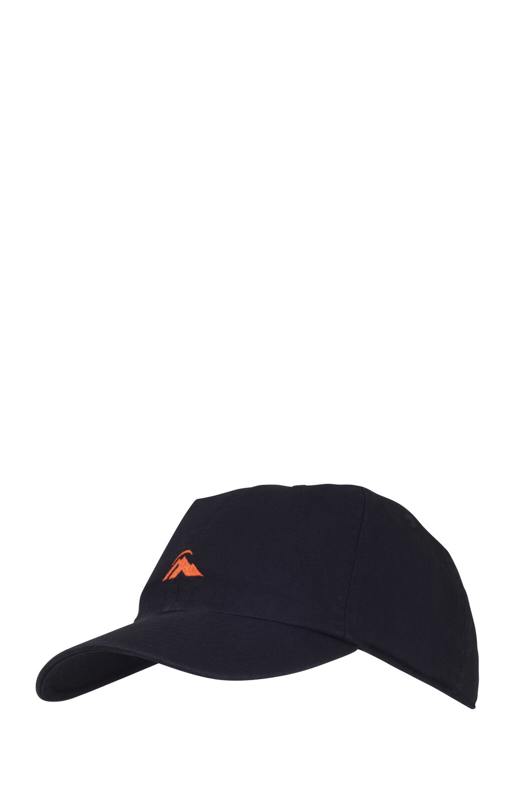 Macpac Vintage Cap, Black/Spicy Orange, hi-res