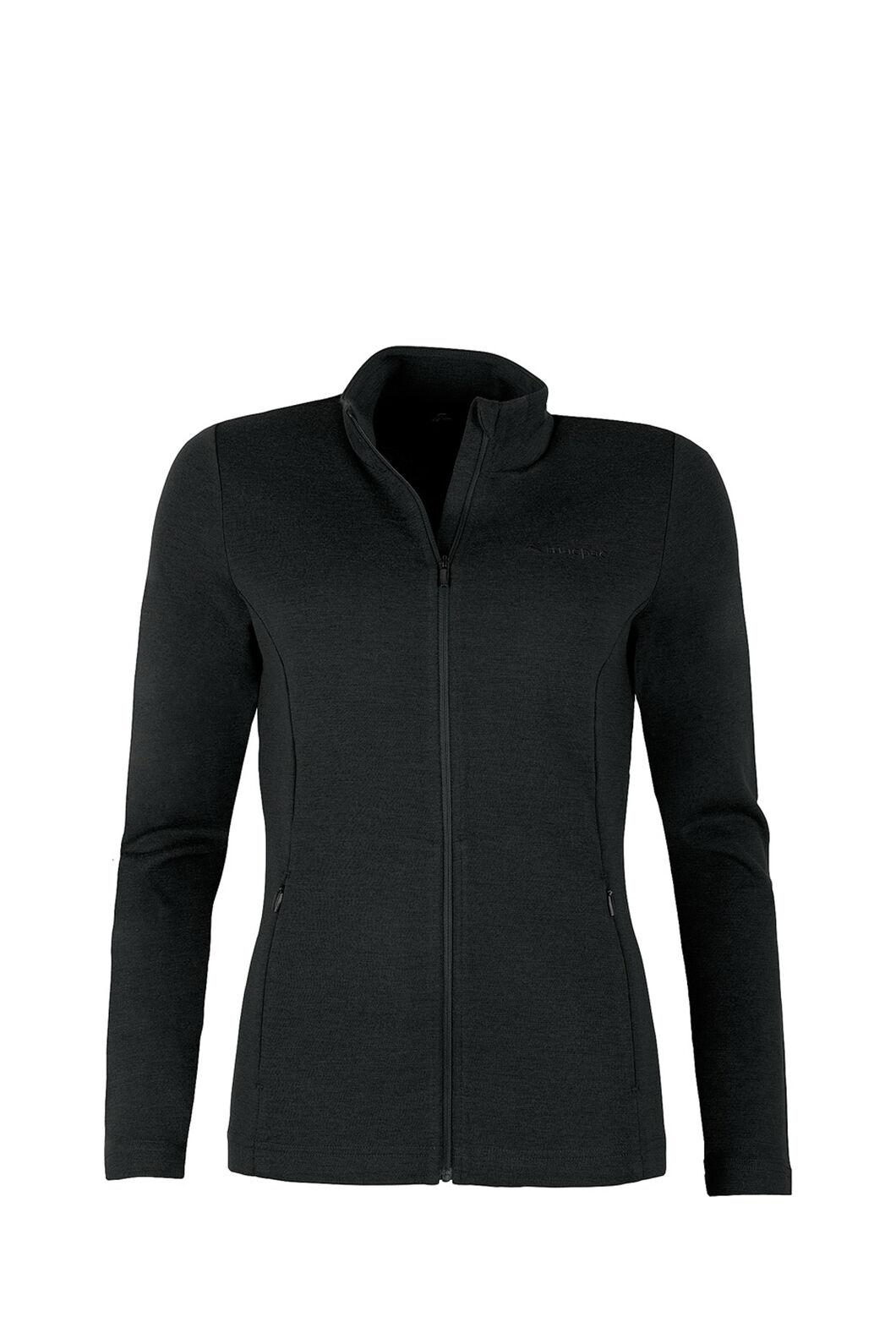 Macpac Brunner 390 Merino Jacket - Women's, Black, hi-res
