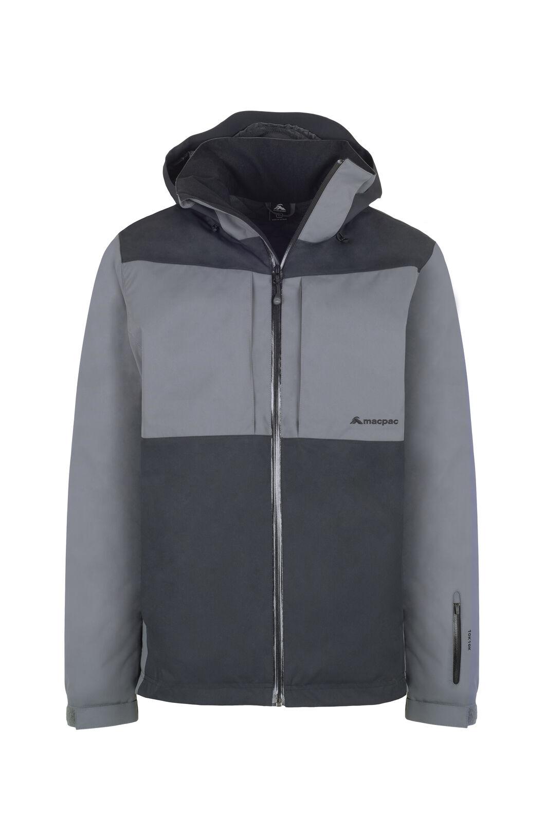 Macpac Slope Jacket - Men's, Black/Iron Gate, hi-res