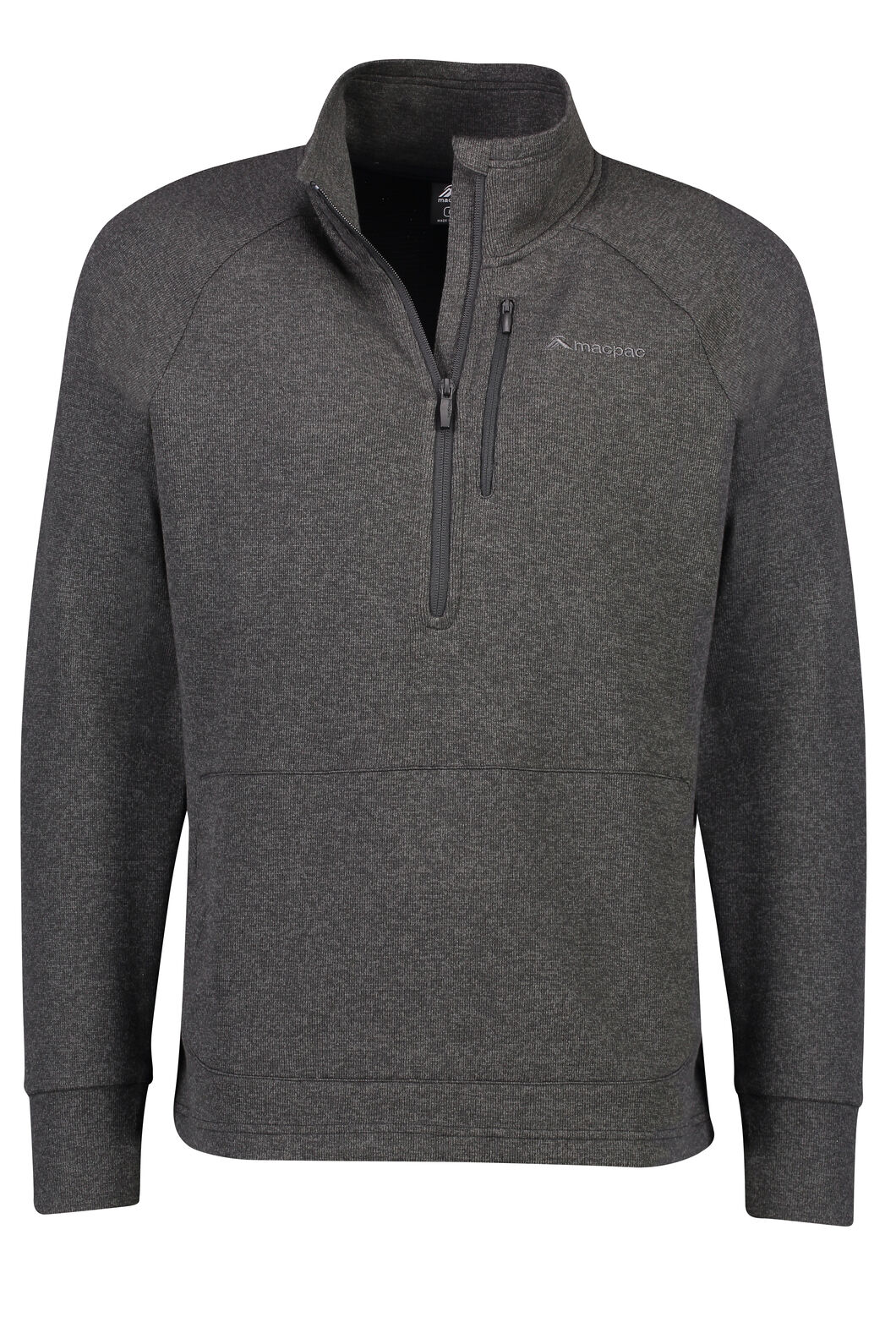Vertex Half Zip - Men's, Charcoal Marle, hi-res