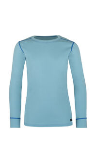 Geothermal Long Sleeve Top - Kids', Etheral Blue, hi-res
