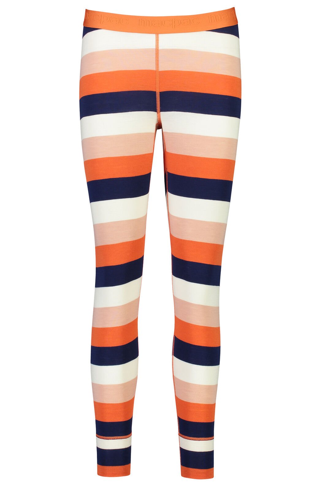 220 Merino Long Johns - Women's, Stripe, hi-res
